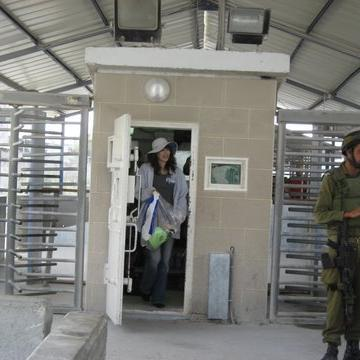 Beit Iba checkpoint 31.07.08