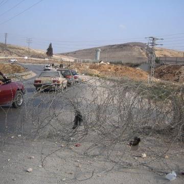 Bir Nabala checkpoint 24.08.08