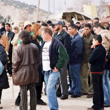 Beit Iba checkpoint 15.12.04