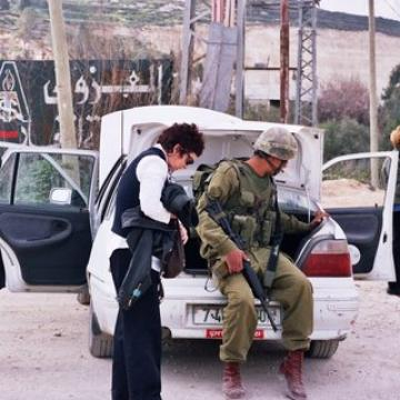 Beit Iba checkpoint 15.02.04