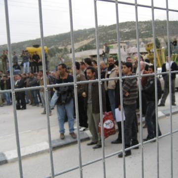 Beit Iba checkpoint 09.02.09