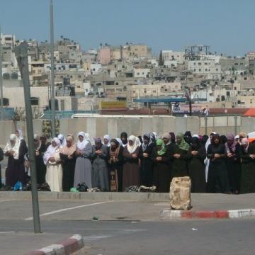 Qalandiya checkpoint 11.09.09