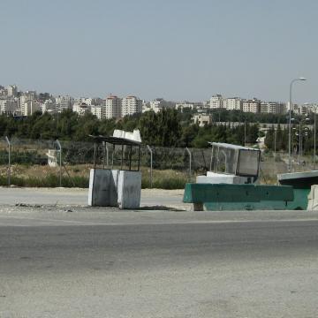 Atarot checkpoint 04.06.10