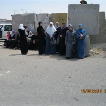 Qalandiya checkpoint 13.08.10