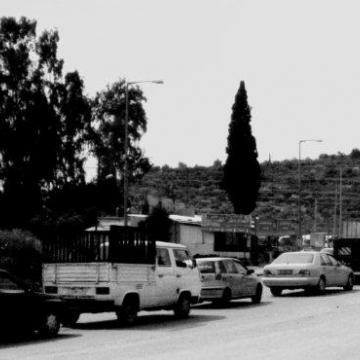 Deir Sharaf checkpoint 27.04.11