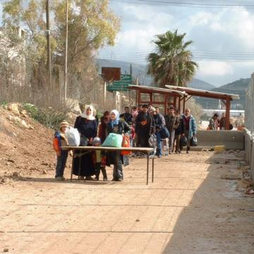 Beit Iba checkpoint 15.01.04