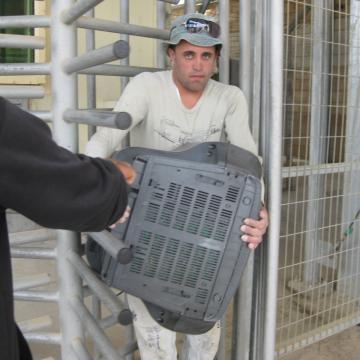 Al Jib/Givat Ze'ev checkpoint 20.05.12
