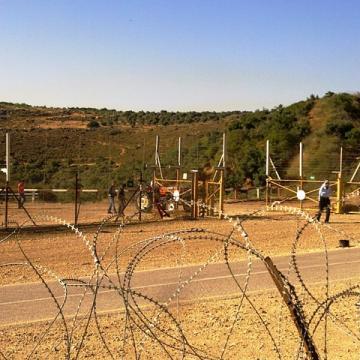 At Tayba/Rummana checkpoint 07.06.12