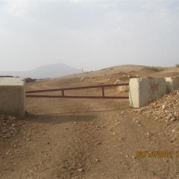 Gochia gate, Jordan valley 02.10.12