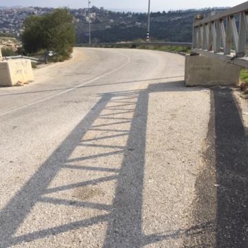 הכניסה לכפר א-דיכ